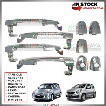 Toyota Vios Altis Camry Perodua Myvi Door Handle Cover Garnish Trim ABS Plastic (CHROME OUTER)