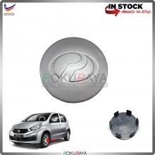 Perodua Myvi Bezza Alza Axia (NEW) Sport Rim Center Wheel Cap Cover (SILVER)