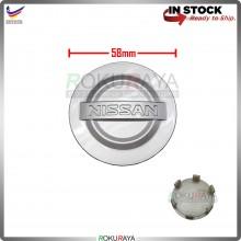 Nissan 58mm Diameter Sport Rim Center Wheel Cap Cover (GREY)