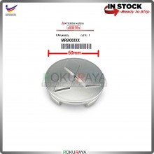 Mitsubishi 60mm Diameter Original Genuine Part Sport Rim Center Wheel Cap Cover (GREY)
