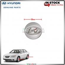 Hyundai 58mm Diameter Original Genuine Part Sport Rim Center Wheel Cap Cover (GREY)