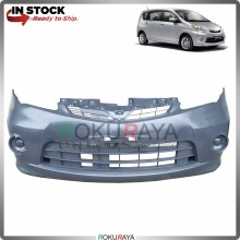 Perodua Alza 2009-2013 OEM Polypropylene PP Plastic Replacement Body Spare Part Black (FRONT BUMPER)