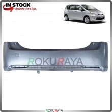 Perodua Alza 2009-2013 OEM Polypropylene PP Plastic Replacement Body Spare Part Black (REAR BUMPER)
