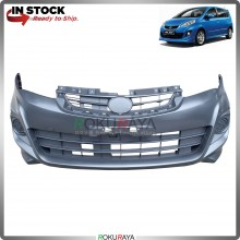 Perodua Alza 2014-2017 OEM Polypropylene PP Plastic Replacement Body Spare Part Black (FRONT BUMPER)