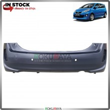 Perodua Alza 2014-2017 OEM Polypropylene PP Plastic Replacement Body Spare Part Black (REAR BUMPER)