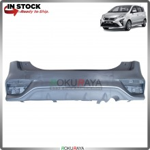 Perodua Alza 2018 OEM Polypropylene PP Plastic Replacement Body Spare Part Black (REAR BUMPER)