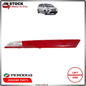 Perodua Alza 2018 Rear Back Bumper Red Reflector OEM Replacement Spare Part (LEFT)