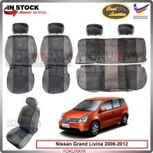 Nissan Grand Livina 2006-2012 Cool Leather Coolmax Custom Fitting Cushion Cover Car Seat