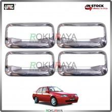 Proton Saga Iswara Door Handle Cover Garnish Trim ABS Plastic (CHROME BOWL)