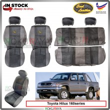Toyota Hilux 160 Series Cool Leather Coolmax Custom Fitting Cushion Cover Car Seat