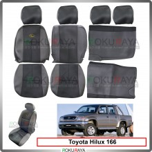 Toyota Hilux SR Turbo 166 Cool Leather Coolmax Custom Fitting Cushion Cover Car Seat