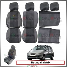 Hyundai Matrix Cool Leather Coolmax Custom Fitting Cushion Cover Car Seat