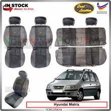 Hyundai Matrix Cool Leather Coolmax Custom Fitting Cushion Cover Car Seat