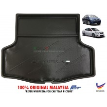 Nissan Almera Custom Fit Original PE Non Slip Rear Trunk Boot Cargo Tray