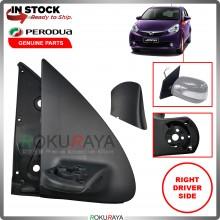 Perodua Myvi Lagi Best 2011-2015 Car Replacement Side Door Mirror Leg Bracket Gasket (RIGHT)