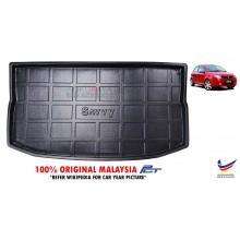 Proton Savvy Custom Fit Original PE Non Slip Rear Trunk Boot Cargo Tray