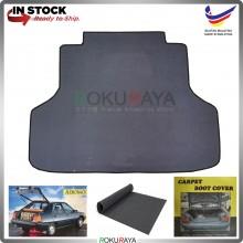 Proton Saga Iswara Old Aeroback Malaysia Custom Fit Carpet Rear Trunk Boot Cargo Cover