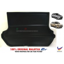 Proton Saga BLM FL FLX SE SV PLUS (2008-2016) Custom Fit Original PE Non Slip Rear Trunk Boot Cargo Tray