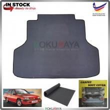 Proton Saga Iswara Old Sedan Malaysia Custom Fit Carpet Rear Trunk Boot Cargo Cover