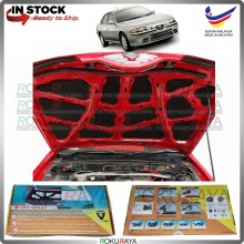 (LASER CUT) Proton Perdana Carfit FRONT BONNET Deadening Sound Proof Heat Insulation Mat