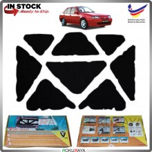 (LASER CUT) Proton Iswara Carfit FRONT BONNET Deadening Sound Proof Heat Insulation Mat