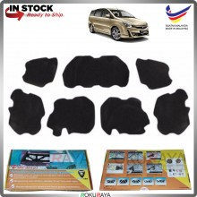 (LASER CUT) Proton Exora Carfit FRONT BONNET Deadening Sound Proof Heat Insulation Mat