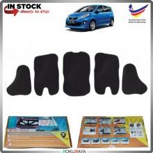 (LASER CUT) Perodua Alza Carfit FRONT BONNET Deadening Sound Proof Heat Insulation Mat
