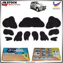 (LASER CUT) Perodua Kancil New (Round Head Lamp) Carfit FRONT BONNET Deadening Sound Proof Heat Insulation Mat