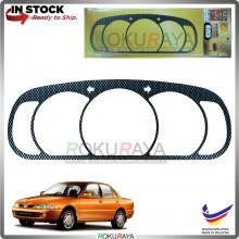 Proton Wira Satria Putra Custom Fit Meter Garnish Cover Car Accessories Part (Carbon Fiber)