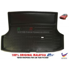 Proton Saga Iswara Aeroback ( 1st Gen ) 1985-2008 Custom Fit Original PE Non Slip Rear Trunk Boot Cargo Tray