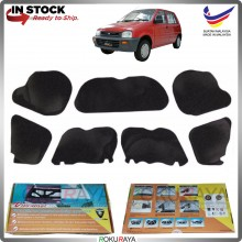 (LASER CUT) Perodua Kancil Old (Lampu Petak) Carfit FRONT BONNET Deadening Sound Proof Heat Insulation Mat