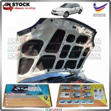 (LASER CUT) Honda Civic EK SO4 Carfit FRONT BONNET Deadening Sound Proof Heat Insulation Mat