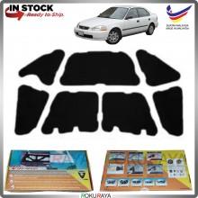 (LASER CUT) Honda Civic EK SO4 Carfit FRONT BONNET Deadening Sound Proof Heat Insulation Mat