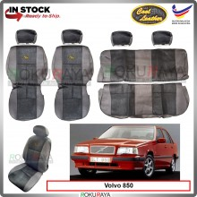Volvo 850 Cool Leather Coolmax Custom Fitting Cushion Cover Car Seat