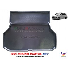 Proton Persona ( 2nd Gen ) 2016 VVT Custom Fit Original PE Non Slip Rear Trunk Boot Cargo Tray