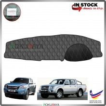 Ford Ranger T5 J97M 2007-2012 RR Malaysia Custom Fit Dashboard Cover (BLACK LINE)