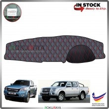 Ford Ranger T5 J97M 2007-2012 RR Malaysia Custom Fit Dashboard Cover (RED LINE)