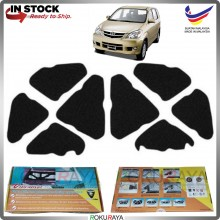 (LASER CUT) Toyota Avanza (1st Gen) 2003-2011 Carfit FRONT BONNET Deadening Sound Proof Heat Insulation Mat