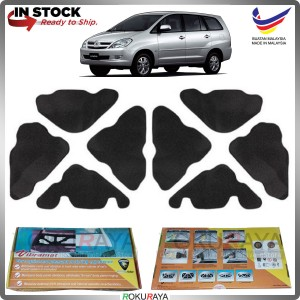 (LASER CUT) Toyota Innova (1st Gen) 2004-2014 Carfit FRONT BONNET Deadening Sound Proof Heat Insulation Mat