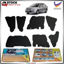 (LASER CUT) Proton Saga VVT (3rd Gen) 2016 Carfit FRONT BONNET Deadening Sound Proof Heat Insulation Mat