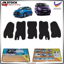 (LASER CUT) Perodua Myvi Lagi Best Icon (2nd Gen) 2012-2017 Carfit FRONT BONNET Deadening Sound Proof Heat Insulation Mat