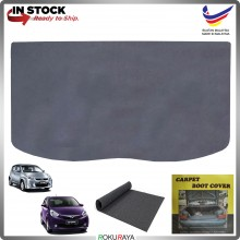 Perodua Myvi (1st Gen) (2nd Gen) 2005-2017 Malaysia Custom Fit Carpet Rear Trunk Boot Cargo Cover