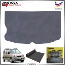 Perodua Kenari Malaysia Custom Fit Carpet Rear Trunk Boot Cargo Cover