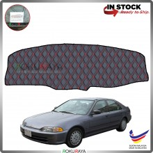 Honda Civic EG SR4 1991-1995 RR Malaysia Custom Fit Dashboard Cover (RED LINE)