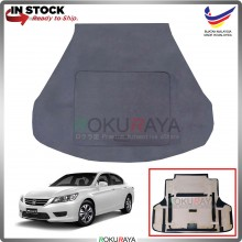 Honda Accord (9th Gen) 2013-2019 Custom Fit 15mm Rear Bonnet Spare Tyre Tire Tayar Cover Back Hard Board Papan (Carpet Wrapped)
