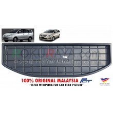 Toyota Innova ( 1st Gen ) 2004-2015 Custom Fit Original PE Non Slip Rear Trunk Boot Cargo Tray