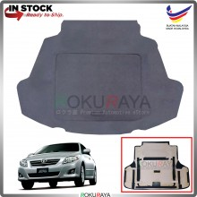 Toyota Altis (10th Gen) 2006-2013 Custom Fit 15mm Rear Bonnet Spare Tyre Tire Tayar Cover Back Hard Board Papan (Carpet Wrapped)