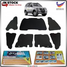 (LASER CUT) Perodua Kembara Carfit FRONT BONNET Deadening Sound Proof Heat Insulation Mat