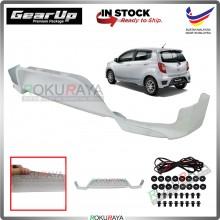 Perodua Axia 2014-2019 Bodykit Original Gear Up ABS Plastic Clips Rubber Lining REAR SKIRT