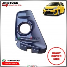 Perodua Myvi Extreme Front Bumper Spotlight Fog Lamp Cover OEM Replacement Spare Part (RIGHT)
